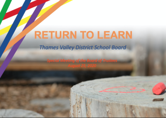 Return to Learn Plan - August 25, 2020
