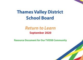 TVDSB Return to Learn Community Resource