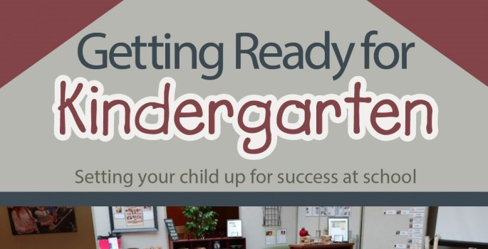 Getting Ready for Kindergarten booklet cover