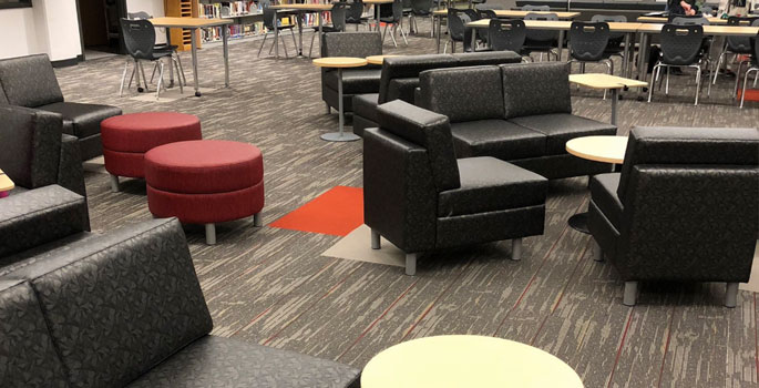 The Saunders Library Learning Commons