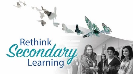 cover image of Rethink Secondary Learning Report