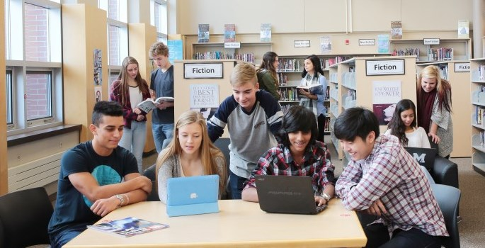 Secondary Virtual Library Learning Commons