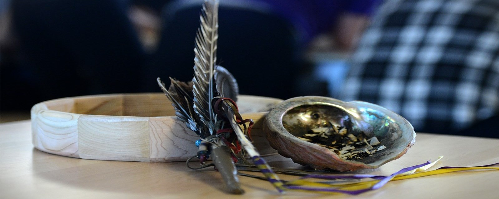 FNMI smudge bowl and drum